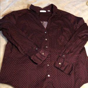 NY&CO Polka Dot Shirt